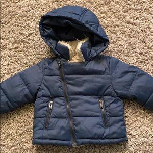Zara baby winter coat